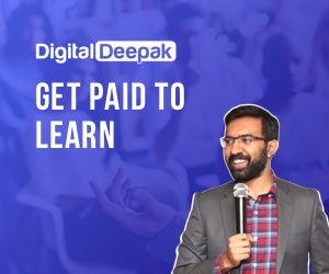 How to learn marketing in a better way while getting paid? (Digital Deepak Internship Review 2020)